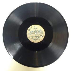 Image of audio transcription disc