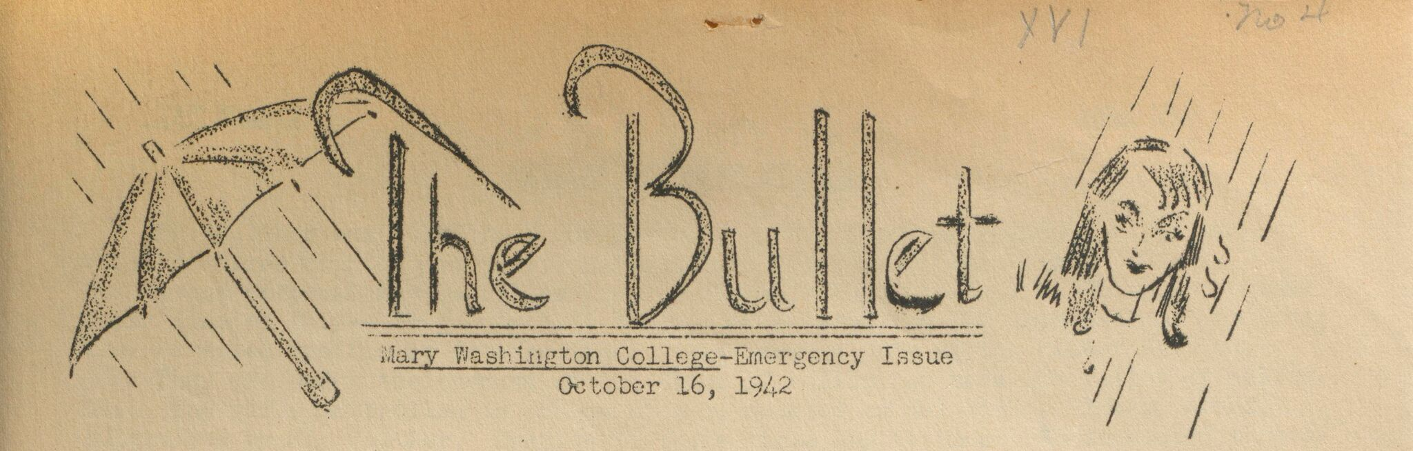 Masthead, The Bullet, October 16. 1942