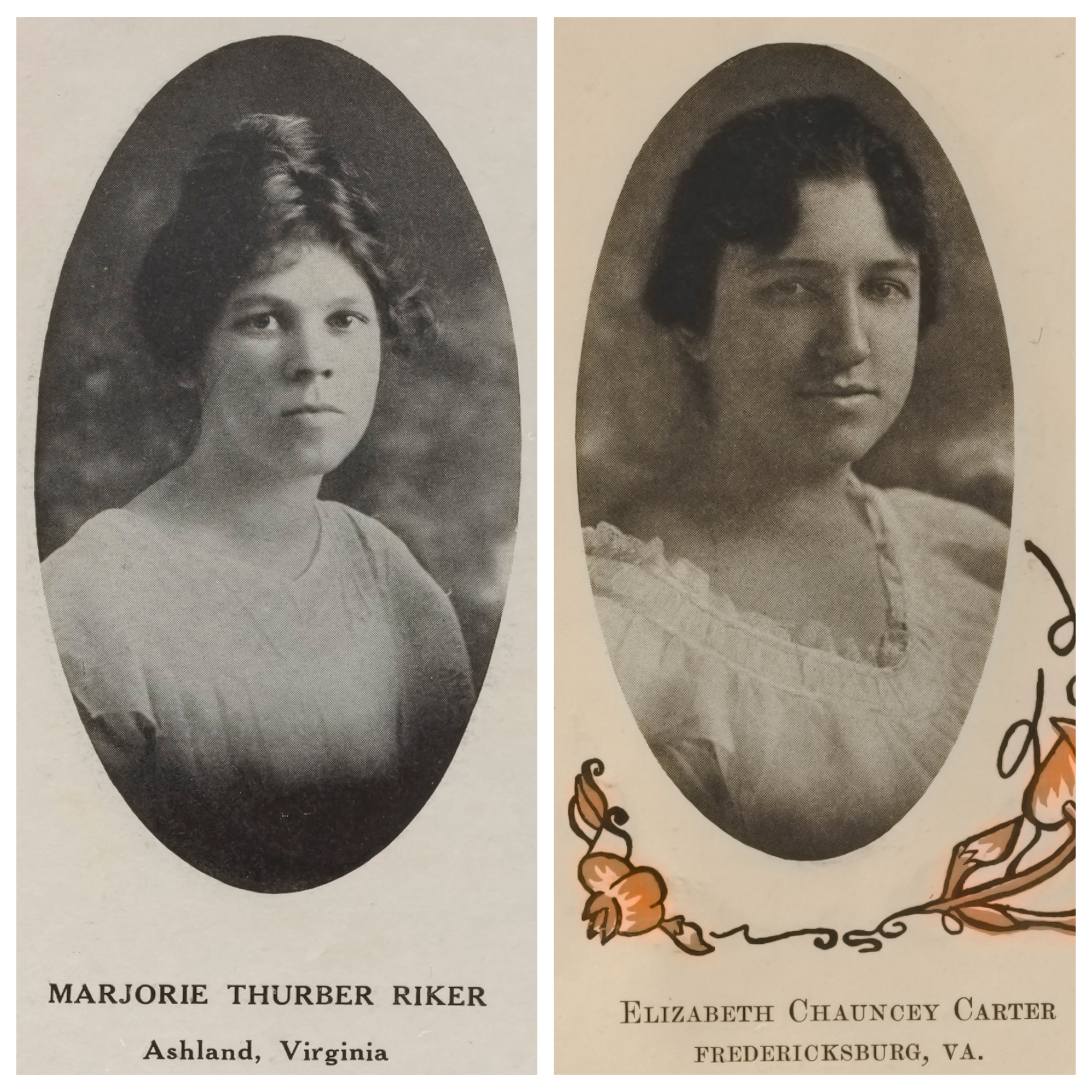 Alumna and student who served in WWI