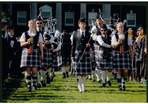 Eagle Pipe Band, Commencement, 2006