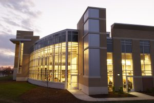 The Stafford Campus Gate Hudson Building built in 2007