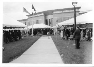 Commencement, Stafford Campus South Building, 2003