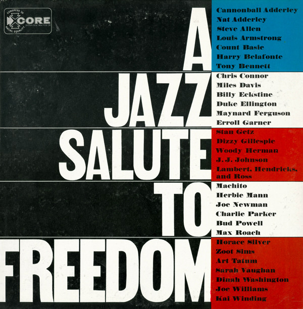 Album cover for A Jazz Salute to Freedom